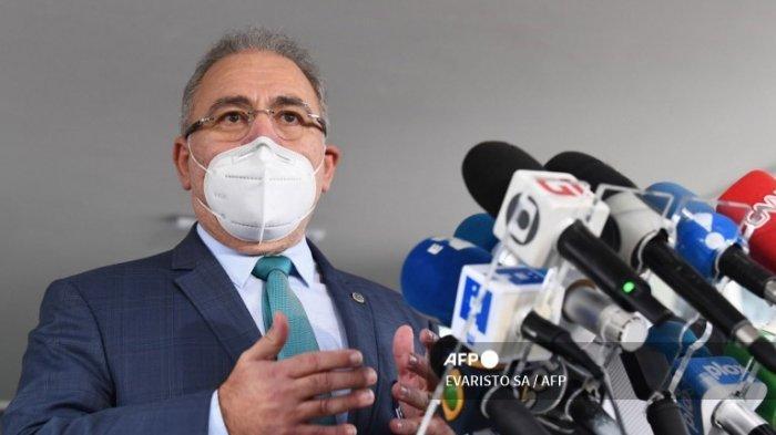 Brasil Catat Rekor Kematian Covid-19 Baru Saat Presiden Lantik Menteri Kesehatan ke-4