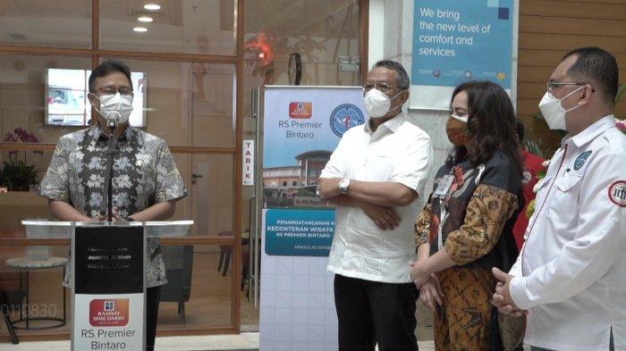Menkes Dorong Rumah Sakit Kembangkan Health Tourism