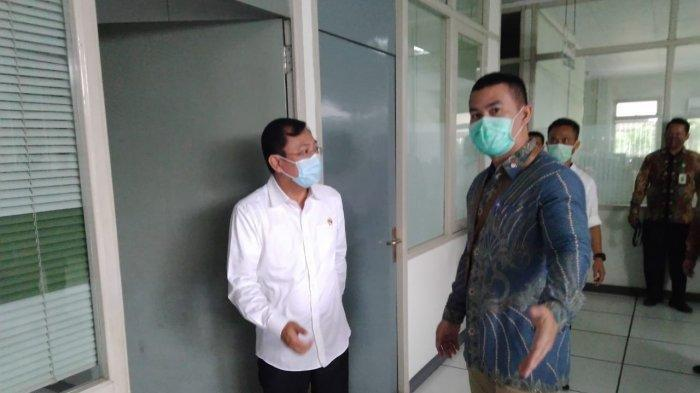 Menkes Terawan Hentikan Sesi Tanya Jawab di RS Dr Oen Solo Saat Ditanya Isu Reshuffle