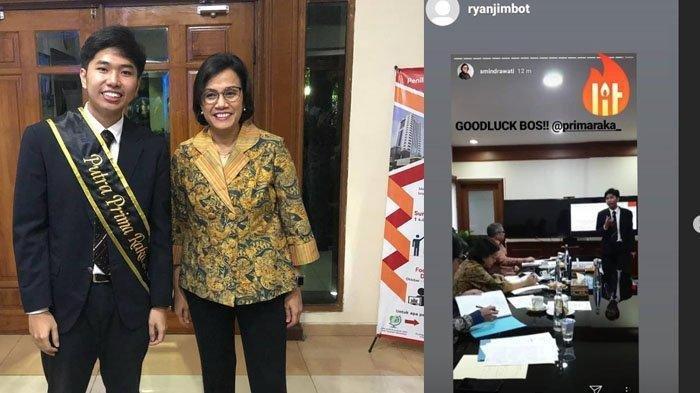 Cerita Mahasiswa Ui Yang Sidang Skripsi Diuji Sri Mulyani Ada Pesan Khusus Dari Menteri Keuangan Tribunnews Com Mobile