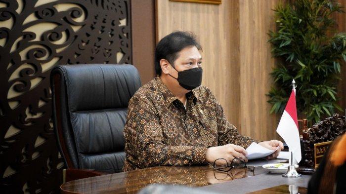 Kasus Covid-19 Menurun, Menko Airlangga Prediksi Ekonomi Indonesia Mampu Tumbuh 5,6 Persen