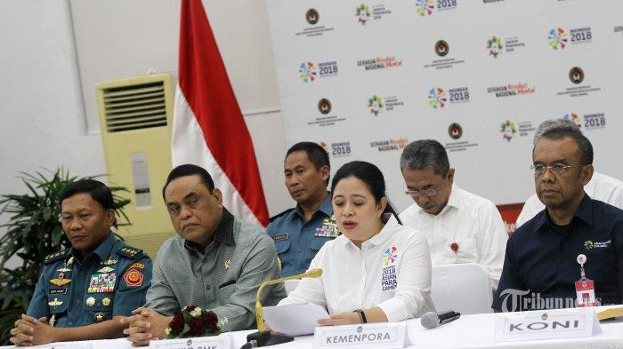 Menko PMK Puan Maharani: Indonesia Capai Tiga Kesuksesan Asian Games 2018