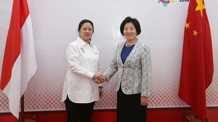 Menko Puan Menerima Kunjungan Wakil Perdana Menteri RRT