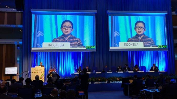 Pidato di IAEA, Menko Puan Tekankan Pentingnya Kerja Sama Nuklir untuk Pembangunan