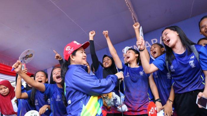 Lepas Jalan Sehat, Menko Puan Minta Warga Palembang Sukseskan Asian Games XVIII 2018