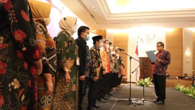 Mahfud MD Ingatkan Asosiasi Pengajar HTN dan HAN Tidak Takut Mengkritik Pemerintah