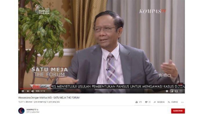 Penggeledahan Kantor PDIP Dijadwal Ulang, Mahfud MD Sebut Pimpinan KPK 'Kepepet', Begini Alasannya