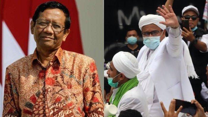 Dalam Sidang, Rizieq Shihab Ungkap Rasa Terima Kasih Kepada Mahfud MD