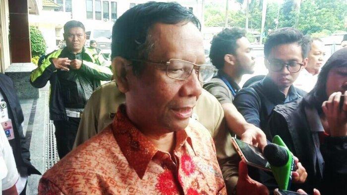 Mahfud MD: Omnibus Law Cipta Lapangan Kerja Bukan Omnibus Untuk Investasi