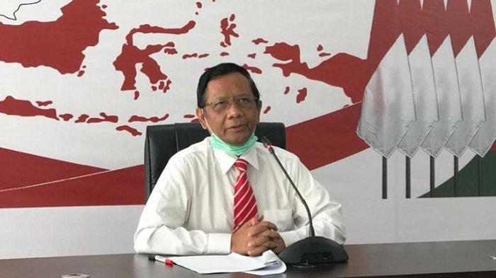 Mahfud MD Bertemu Firli Bahuri dan Jenderal Andika Perkasa Bahas Penegakan Hukum dan  Pertahanan