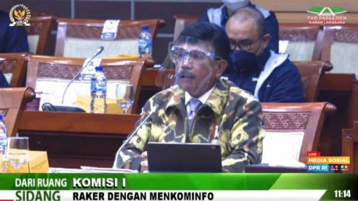Rapat dengan Komisi I DPR, Menkominfo Jelaskan Perkembangan Layanan 5G di Indonesia