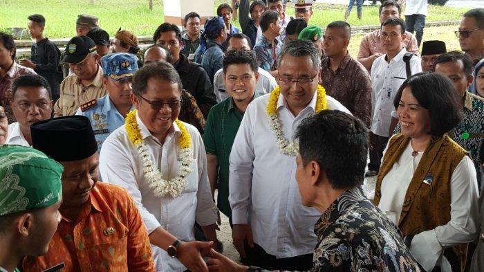 Rudiantara dan Eko Putro Sandjojo Kunjungi Desa Singaparna