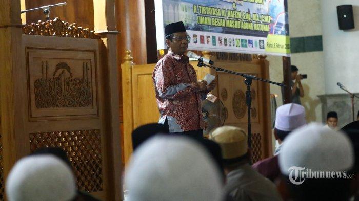 Mahfud MD Bahas Pendapat Din Syamsudin hingga Komnas HAM Soal WNI Eks ISIS