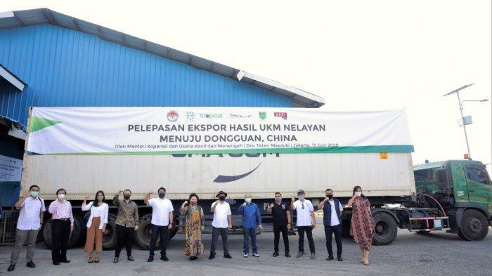 Menkop UKM Ekspor Perdana 27 Ton Ikan ke China