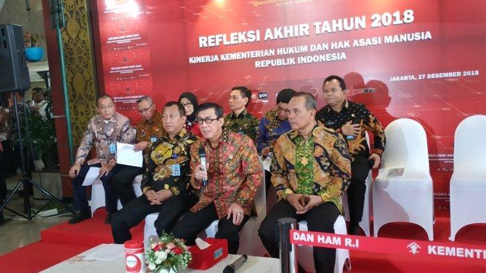 Kemenkumham Jatuhkan Hukuman Indisipliner Terhadap 157 Pegawai Sepanjang 2018