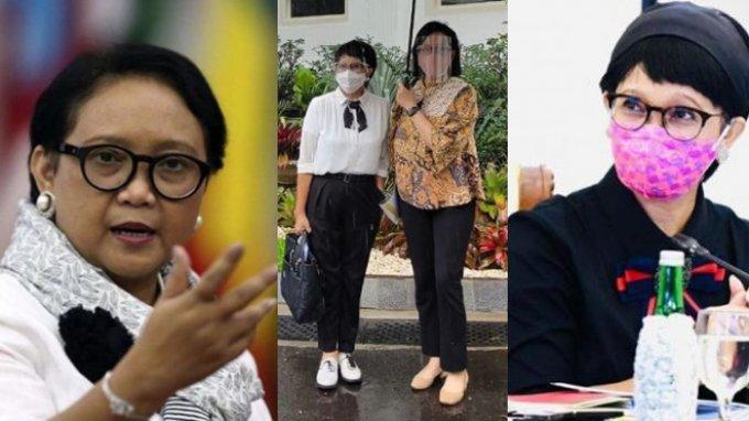 Retno Marsudi Kerap Terlihat Modis, Dari Sepatu hingga Model Rambut, Koper Besar Ini Simpan Rahasia