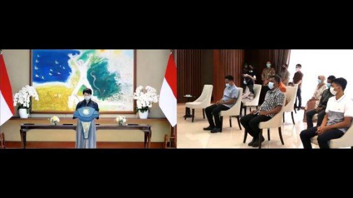 Menlu Retno Serah Terima 4 Korban Sandera ASG pada Keluarga
