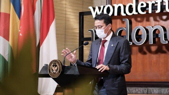 Menteri Sandiaga Minta Masyarakat Patuhi Anjuran Tidak Mudik di Lebaran Ini