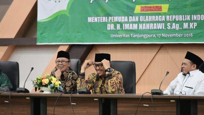 Menpora Bersilaturahmi dengan Pimpinan Pondok Pesantren Kalimantan Barat