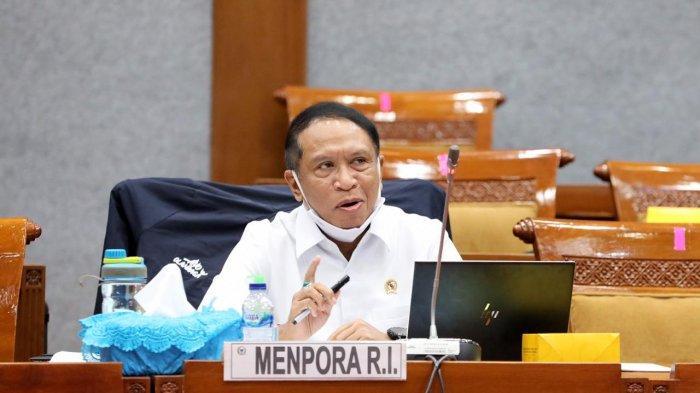 Raker Bersama Komisi X DPR RI, Menpora Bahas RKA KL dan RKP KL 2021
