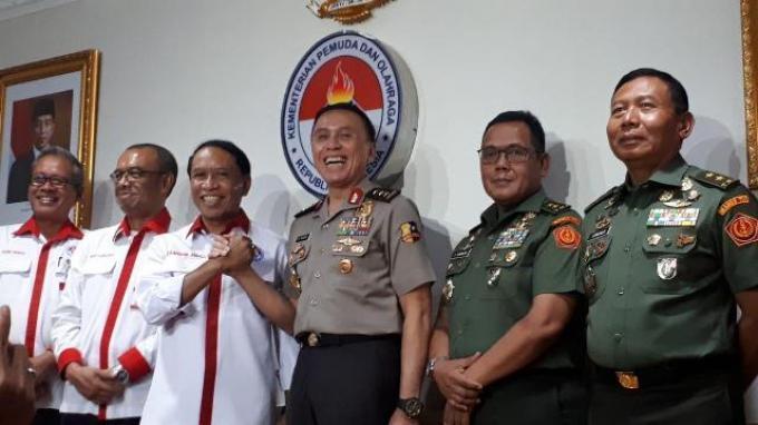 Menpora Minta PSSI 'Tancap Gas' di Bawah Pimpinan Iwan Bule