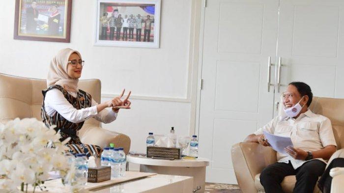 Terima Staf Khusus Presiden Angkie Yudistia, Menpora Dukung Pelaksanaan 2 Perpres Disabilitas