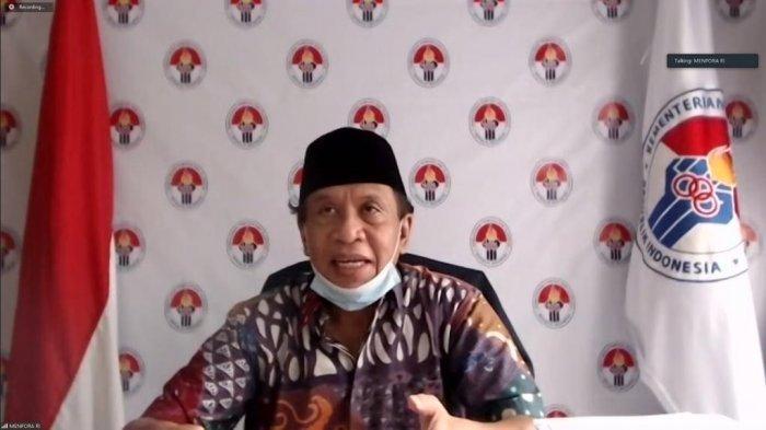 Menpora Zainudin Amali menegaskan dunia olahraga di Indonesia tidak boleh berhenti karena adanya Covid-19, pihaknya saat ini sedang merumuskan beberapa draft untuk menjadi protokol kesehatan di bidang olahraga menuju era New Normal di tengah pandemi.