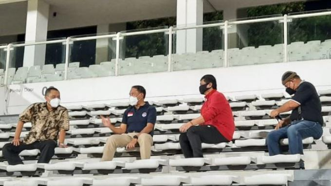 Tengok Latihan Timnas Indonesia, Menpora Soroti Materi Pemain Pilihan Shin Tae-yong