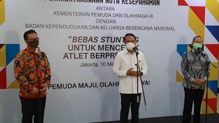 Menpora Amali Ingin Masalah Stunting Bisa Ditekan Sehingga Harapan Indonesia Emas 2045 Bisa Tercapai