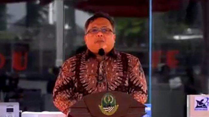 Menristek Serahkan Sederet Produk Inovasi untuk Penanganan Covid-19 di Jawa Barat