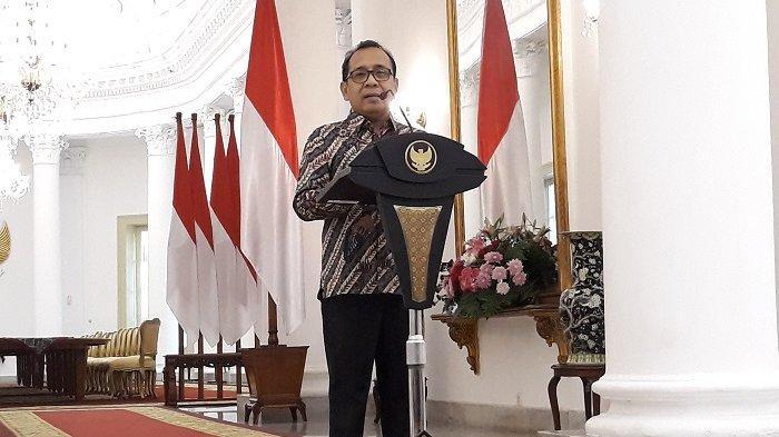 Mensesneg Pratikno, Sabtu (1/6/2019) di Istana Kepresidenan Bogor, Jawa Barat.
