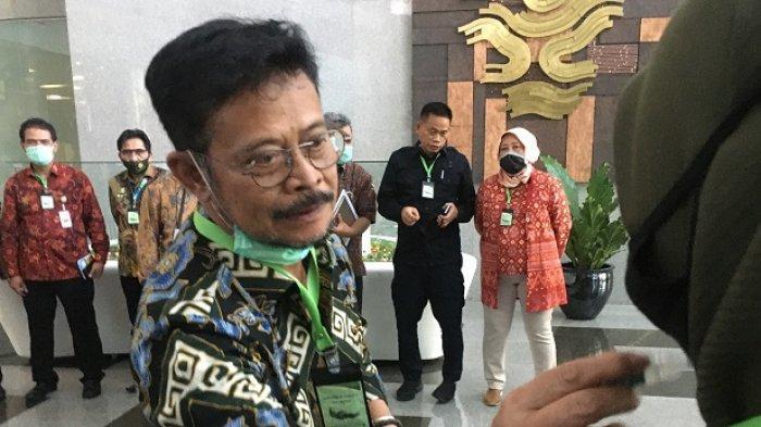 Menteri Pertanian (Mentan) Syahrul Yasin Limpo
