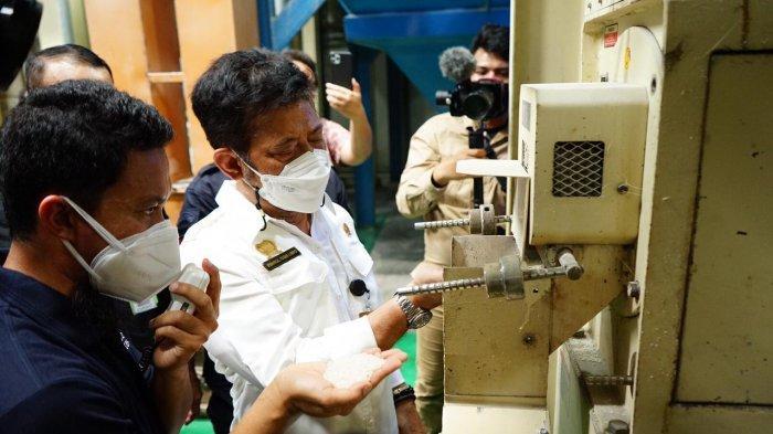 Mentan Kunjungi Penggilingan Padi di Cibitung Bekasi, Jabar