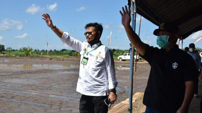 Kementan Tingatkan Produksi Pangan Lewat Optimasi Lahan