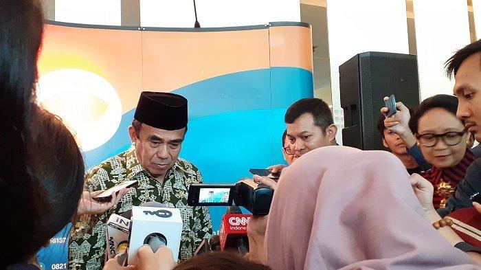 Menteri Agama RI Fachrul Razi di JS Luwansa Hotel, Kuningan, Jakarta Selatan, Rabu (27/11/2019).