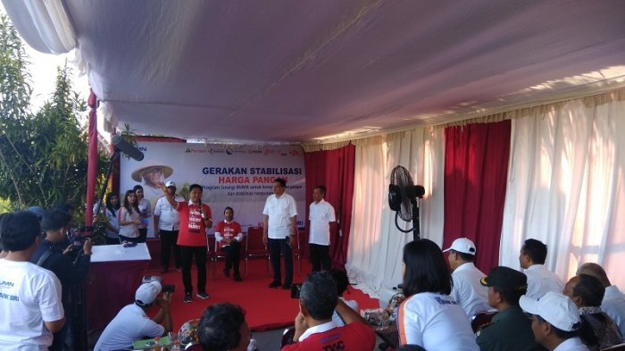 Kunjungan ke Kebonagung Bantul, Rini Soemarno Kelaparan Tak Kuat Berdiri