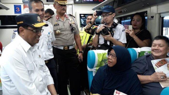 Menteri Budi Karya Sidak Bandara dan Stasiun Bandung