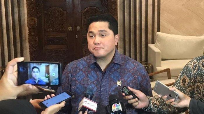 Erick Thohir nyatakan BUMN farmasi punya obat untuk pasien positif virus corona. Foto diambil ketika Menteri BUMN Erick Thohir di Kementerian Luar Negeri, Jakarta, Kamis (9/1/2020).(Kompas.com/AKHDI MARTIN PRATAMA)