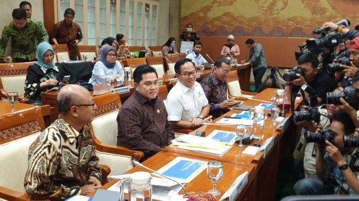 Rapat dengan Panja Jiwasraya, Erick Thohir Janji Dana Nasabah Cair Mulai Akhir Maret