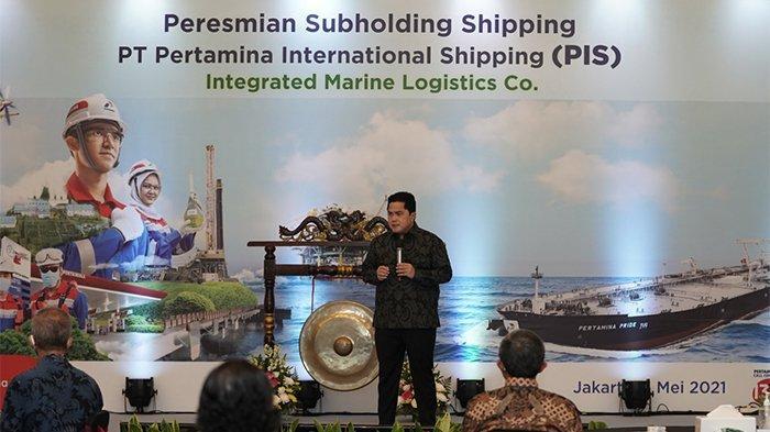 Erick Thohir: Peresmian Subholding Shipping Wujudkan Mimpi SIP Jadi Global Player