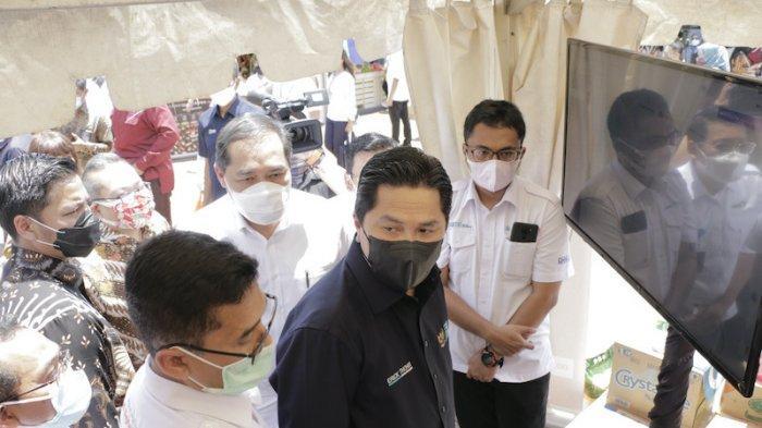 Menteri BUMN Berharap Warung Pangan Dapat Membuka Lapangan Kerja