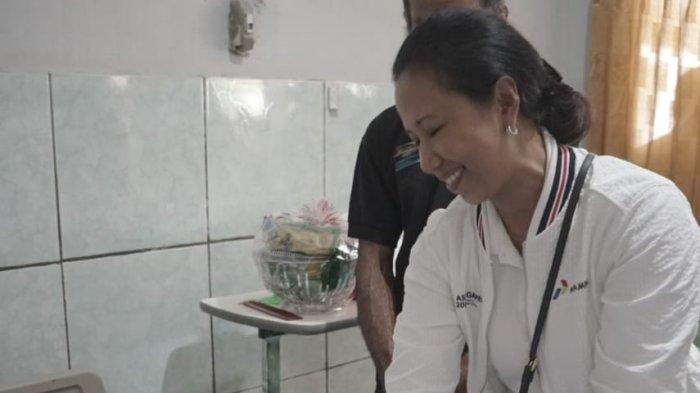 Ke Ternate, Menteri BUMN Tinjau Kondisi Korban KMP Bandeng