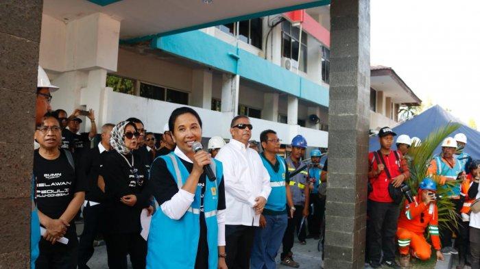 Menteri BUMN Apresiasi Pemulihan Sistem Kelistrikan Palu dan Sekitarnya