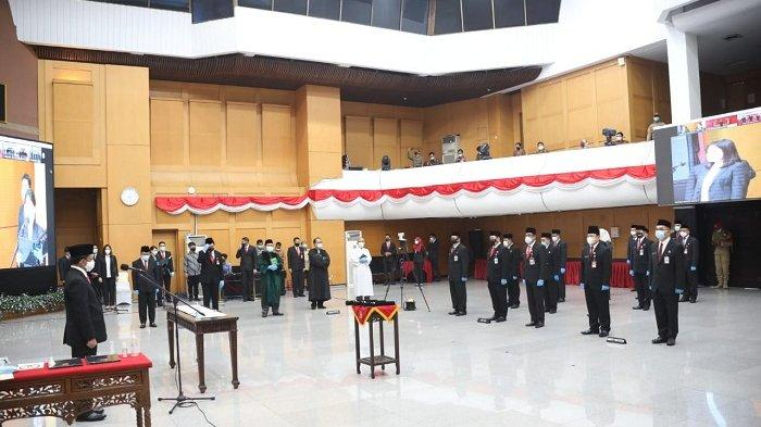 Tito Karnavian Lantik Pejabat Tinggi Pratama, Administrator, Serta Pengawas Kemendagri dan BNPP