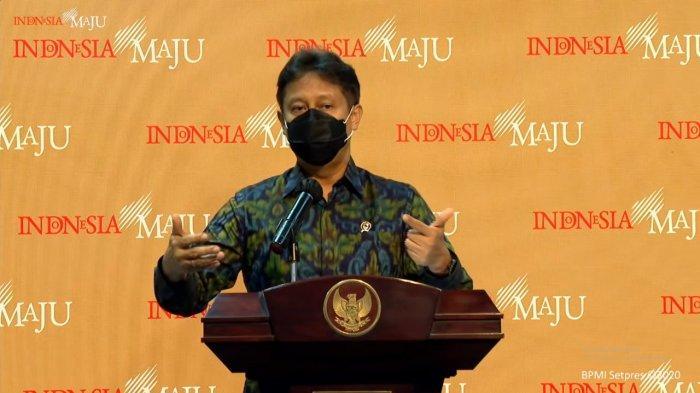 Menteri Kesehatan, Budi Gunadi Sadikin.