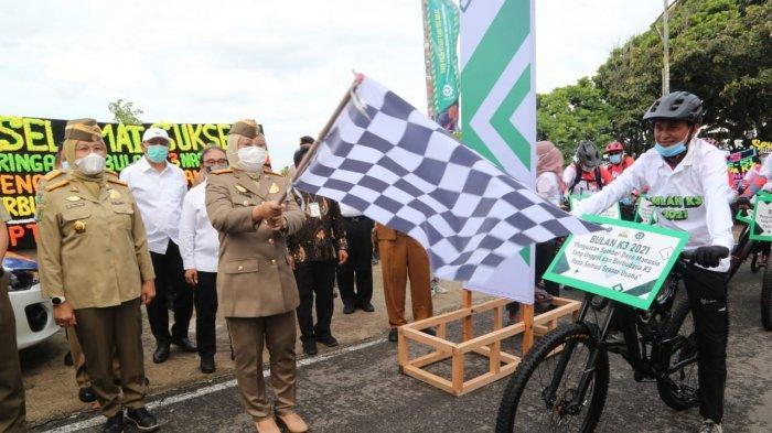 Menaker Ida Canangkan Bulan K3 Nasional Di Kilometer Nol Sabang