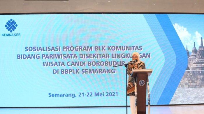 Menaker Ida: Borobudur Jadi Proyek Percontohan BLK Komunitas Sektor Pariwisata