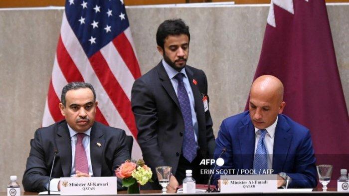 Menteri Keuangan Qatar Ali Sharif Al Emadi