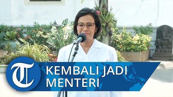 Presiden Joko Widodo kembali memanggil sejumlah tokoh yang menjadi calon menteri, Selasa (22/10/2019) hari ini. Tokoh pertama yang datang adalah Sri Mulyani, Menteri Keuangan di Kabinet Kerja Jokowi-JK.