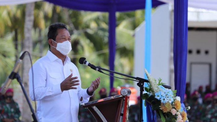 Menteri KKP Ajak TNI AL Optimalisasi Potensi Perikanan Budidaya di Pesisir